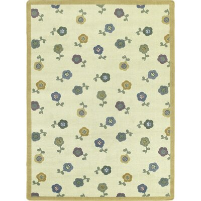 Awesome Blossom Soft Kids Area Rug Rug Size: Rectangle 78 x 109