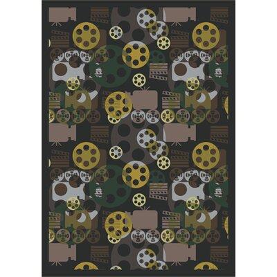 Charcoal Area Rug Rug Size: 310 x 54