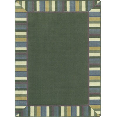 Clean Soft Light Green Area Rug Rug Size: 78 x 109