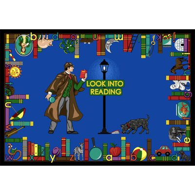 Look Into Reading Area Rug Rug Size: 54 x 78
