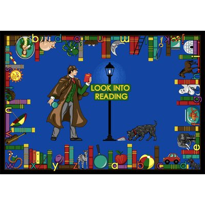 Look Into Reading Area Rug Rug Size: 109 x 132