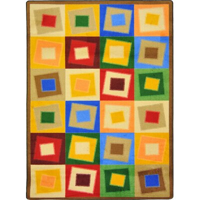 Off Balance Neutral Area Rug Rug Size: 78 x 109