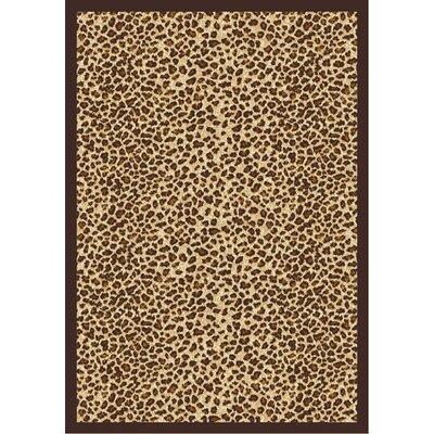 Animal print Area Rug Rug Size: 78 x 109