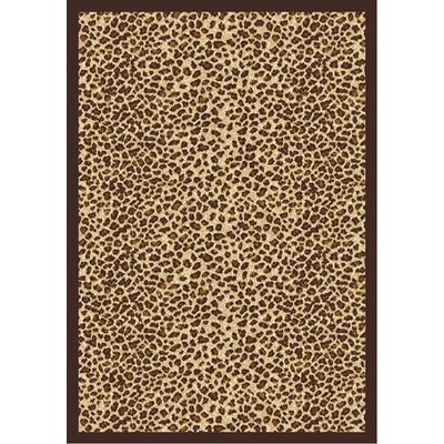 Animal print Area Rug Rug Size: 54 x 78