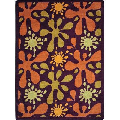 Orange/Yellow Area Rug Rug Size: 310 x 54