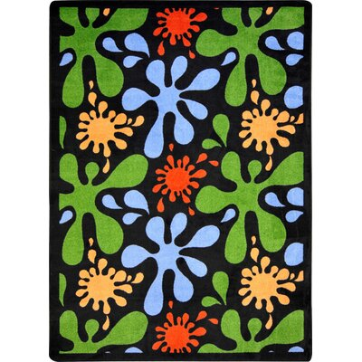 Blue/Green Area Rug Rug Size: 310 x 54