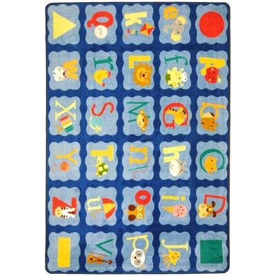 Blue Area Rug Rug Size: 310 x 54