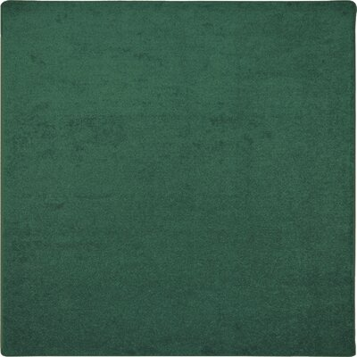 Green Area Rug Rug Size: Square 6