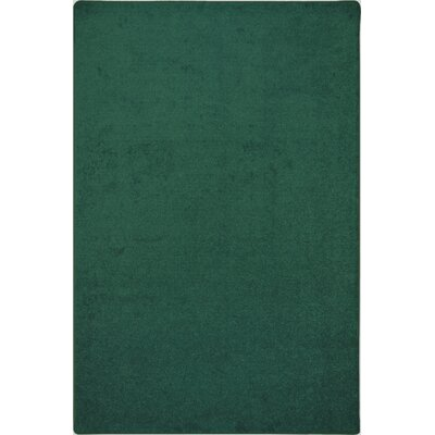 Green Area Rug Rug Size: Rectangle 6 x 9