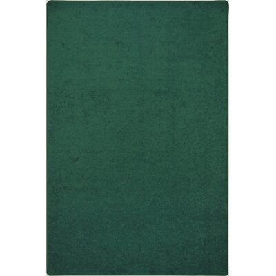 Green Area Rug Rug Size: Rectangle 8 x 12