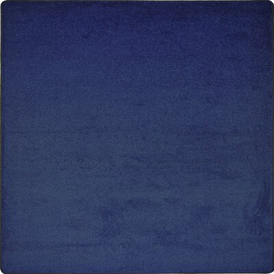 Shelby Tufted Blue Area Rug Rug Size: Square 6