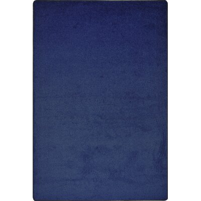 Shelby Tufted Blue Area Rug Rug Size: 6 x 9