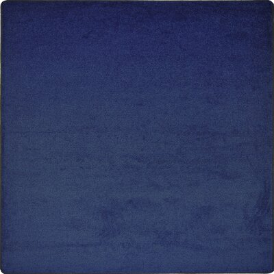 Shelby Tufted Blue Area Rug Rug Size: Square 12