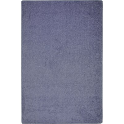 Blue Area Rug Rug Size: Rectangle 8 x 12