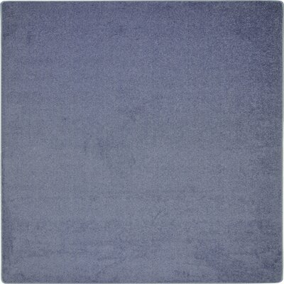 Blue Area Rug Rug Size: Square 12