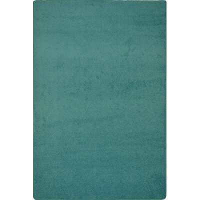 Green Area Rug Rug Size: Rectangle 12 x 18
