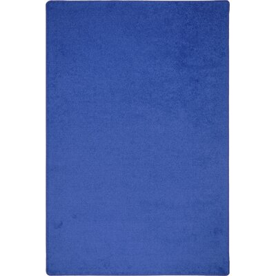 Blue Area Rug Rug Size: Rectangle 8' x 12'