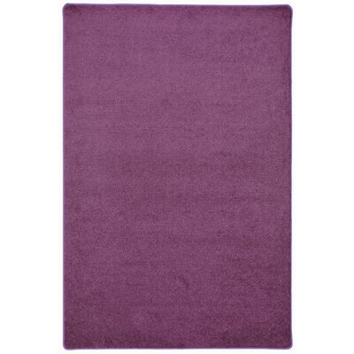 Purple Area Rug Rug Size: 8 x 12
