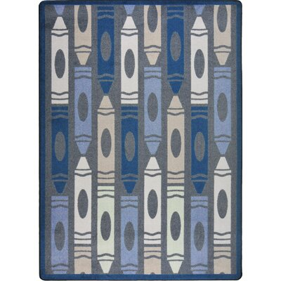 Hand-Tufled Gray Area Rug Rug Size: 310 x 54