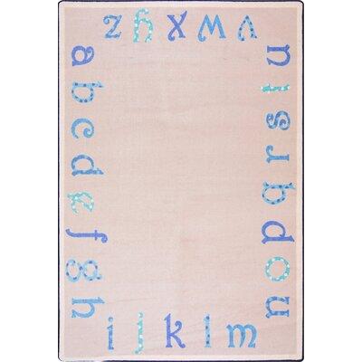 Hand-Tufled Beige Kids Rug Rug Size: 109 x 132