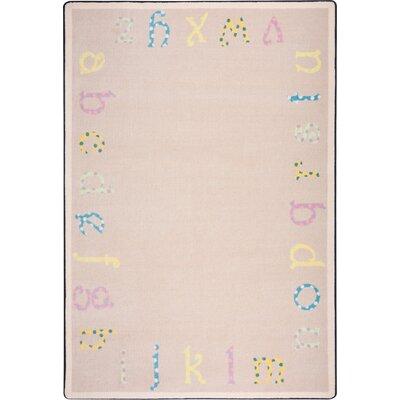 Hand-Tufled Beige Kids Rug Rug Size: 78 x 109