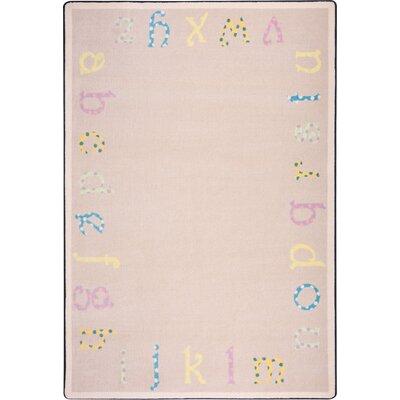 Hand-Tufled Beige Kids Rug Rug Size: 54 x 78