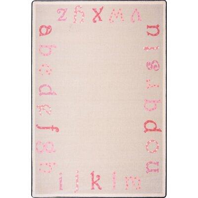 Hand-Tufled Pink Area Rug Rug Size: 310 x 54