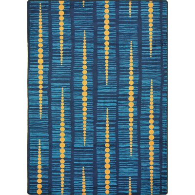 Hand-Tufled Blue Area Rug Rug Size: 310 x 54
