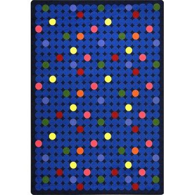 Hand-Tufled Blue Kids Rug Rug Size: 78 x 109