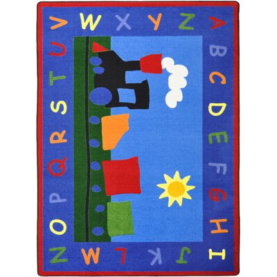 Hand-Tufled Kids Rug Rug Size: Rectangle 78 x 109