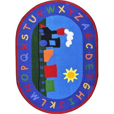 Hand-Tufled Kids Rug Rug Size: Oval 54 x 78