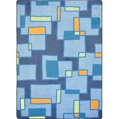 Hand-Tufled Blue Area Rug Rug Size: 310 x 54