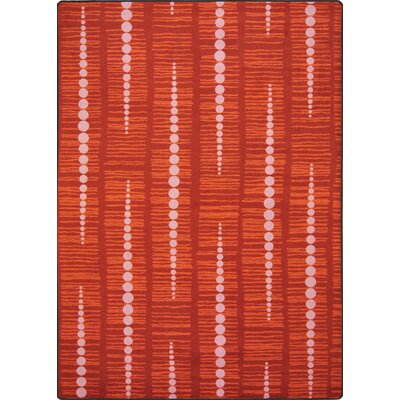 Red Area Rug Rug Size: 310 x 54