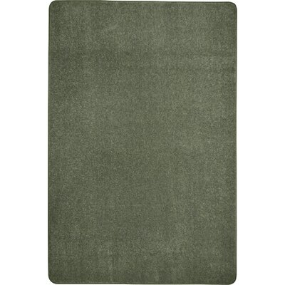 Endurance Green Area Rug Rug Size: Rectangle 6 x 6
