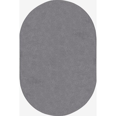 Endurance Silver Area Rug Rug Size: Rectangle 6 x 6
