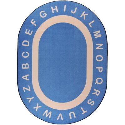 Blue Area Rug Rug Size: Rectangle 78 x 109