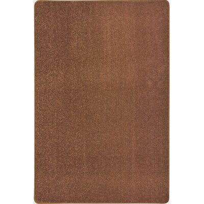 Brown Area Rug Rug Size: 12 x 18
