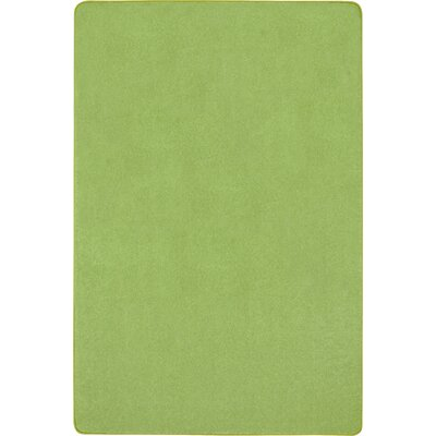 Lime Green Area Rug Rug Size: Rectangle 4' x 6'