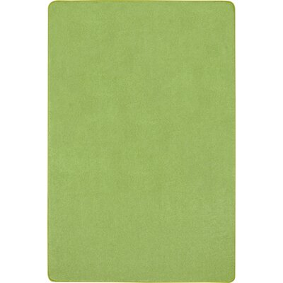 Lime Green Area Rug Rug Size: Rectangle 12 x 8