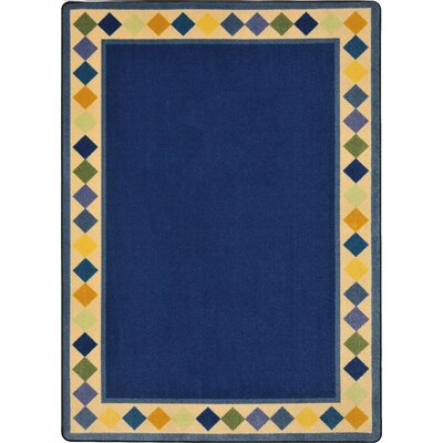 Blue Area Rug Rug Size: Rectangle 310 x 54