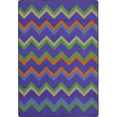 Violet Area Rug Rug Size: 54 x 78