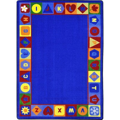 Blue Area Rug Rug Size: Rectangle 78 x 109