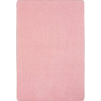 Pale Pink Area Rug Rug Size: Rectangle 6 x 9