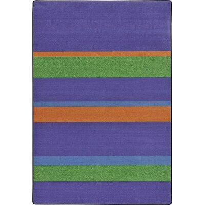 Violet Area Rug Rug Size: 109 x 132