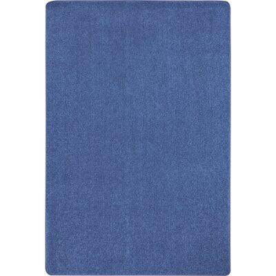 Cobalt Blue Area Rug Rug Size: 6' x 9'