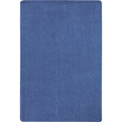 Cobalt Blue Area Rug Rug Size: Rectangle 12 x 8