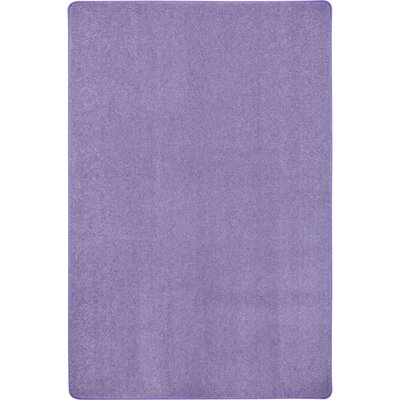 Violet Area Rug Rug Size: Rectangle 12 x 8