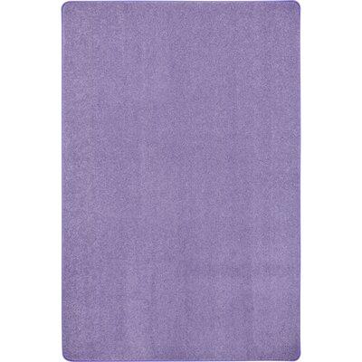 Violet Area Rug Rug Size: 12 x 8