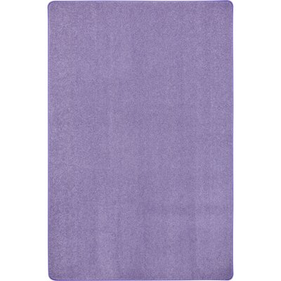 Violet Area Rug Rug Size: Rectangle 6 x 9