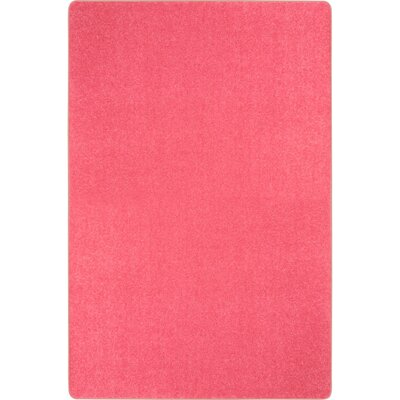 Hot Pink Area Rug Rug Size: Rectangle 6 x 9